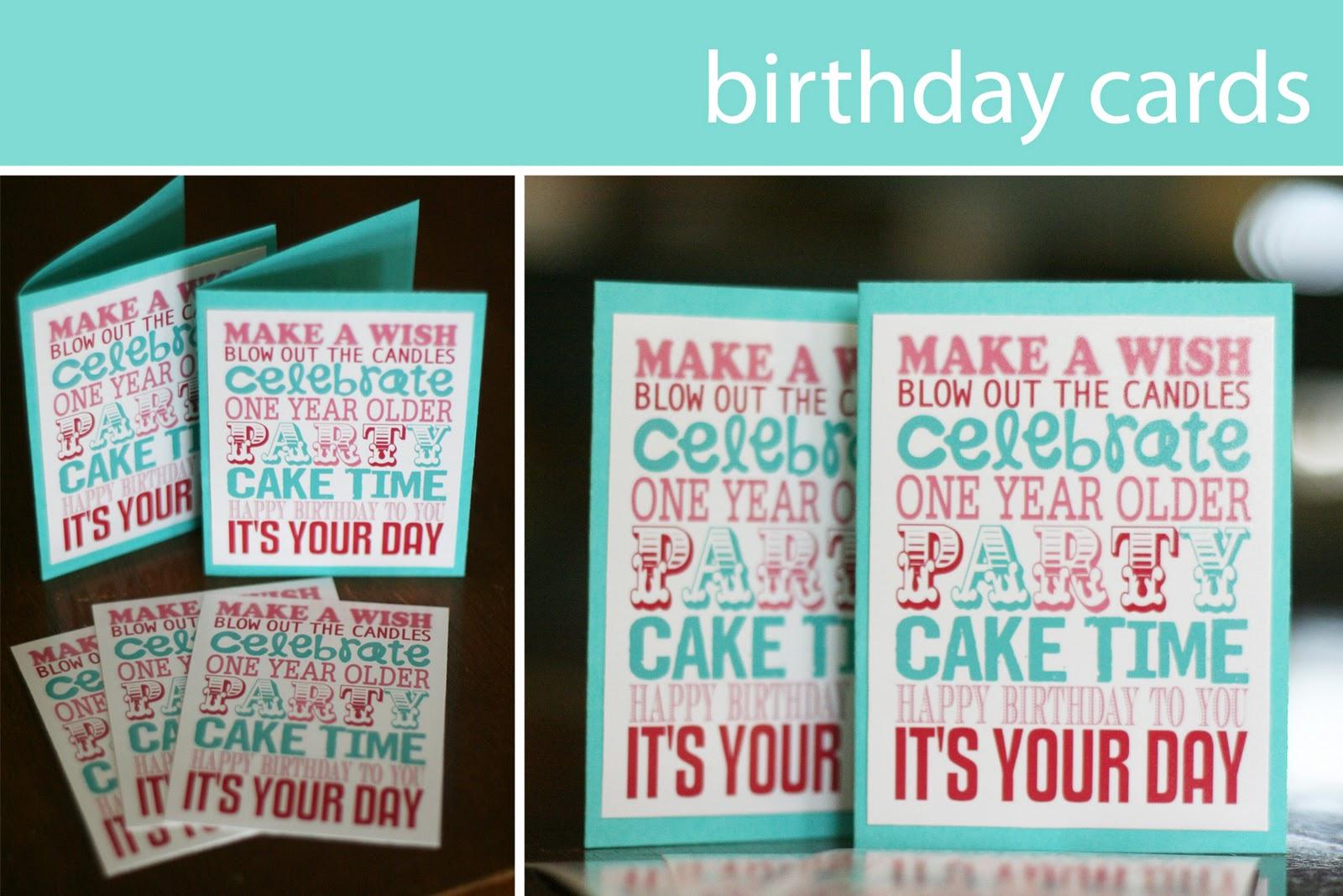 best images of make free printable birthday card  free, Birthday card