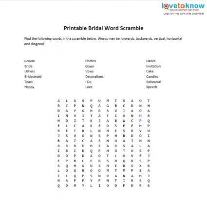8 Images of Printable Housewarming Word Scramble
