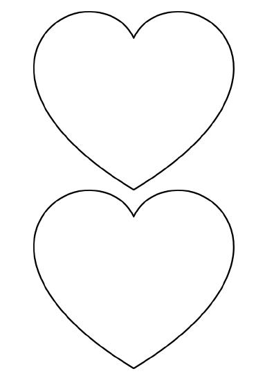 6 Images of Printable Heart Shapes Hand Drawn