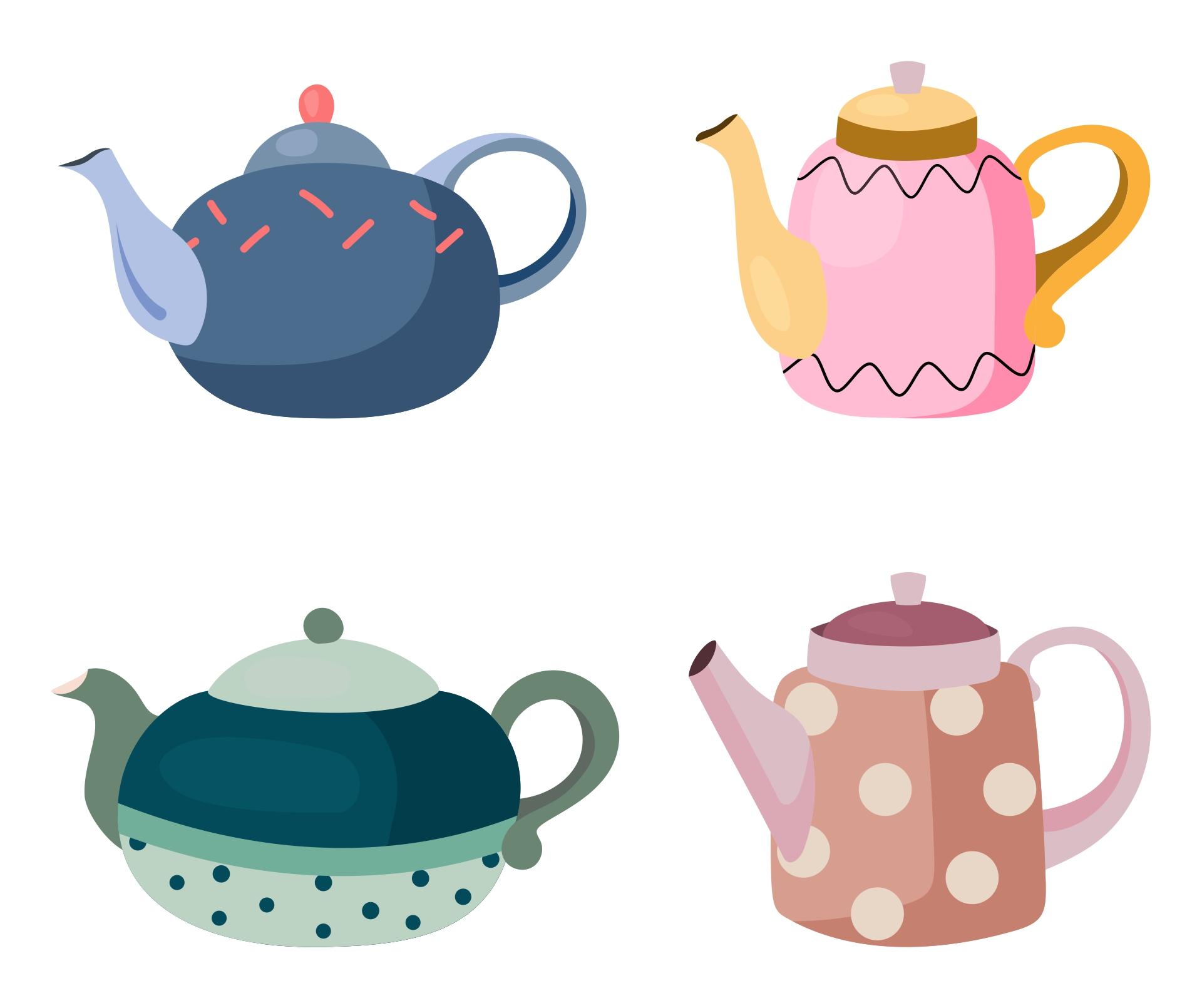 Printable Tea Cup Teapot