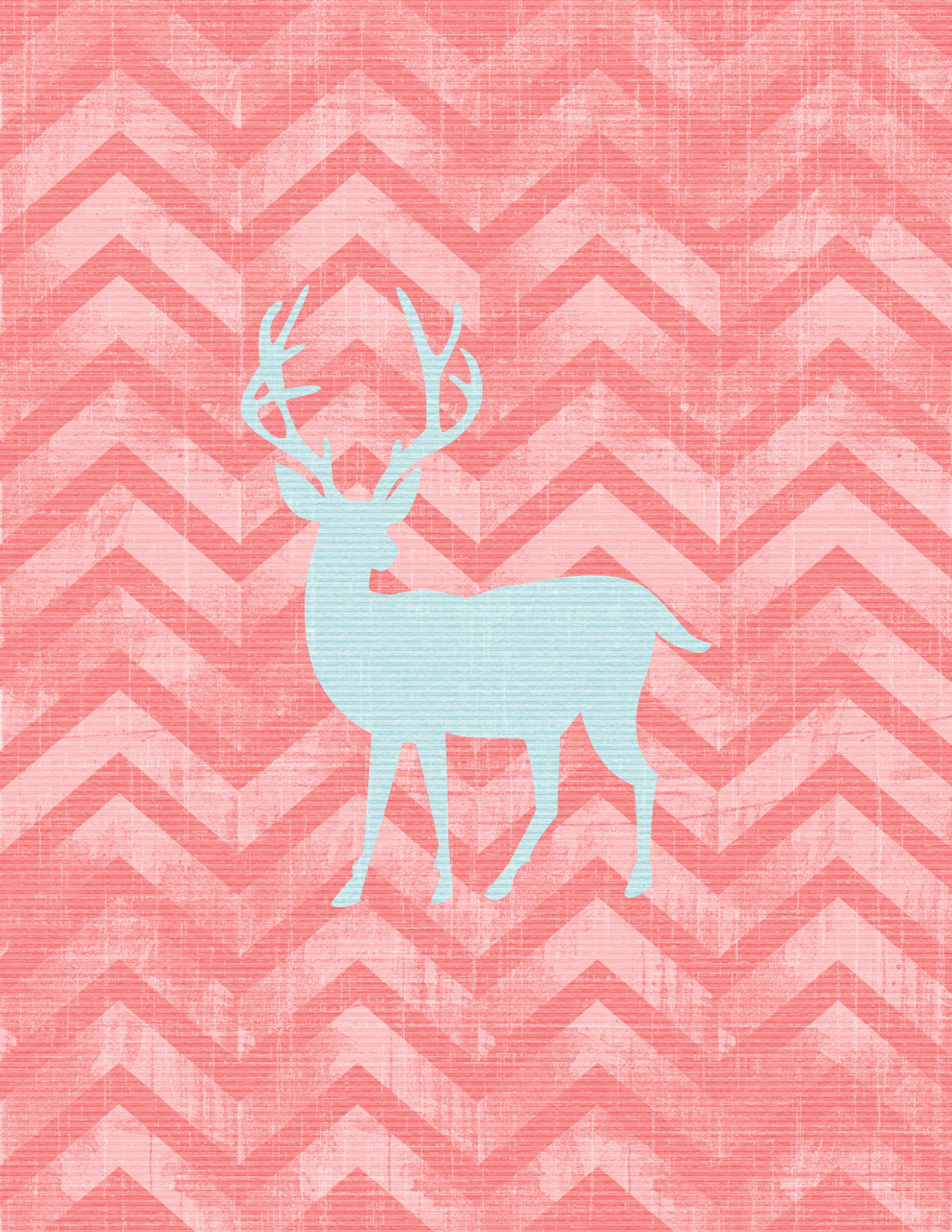 Free Printable Wall Art Deer