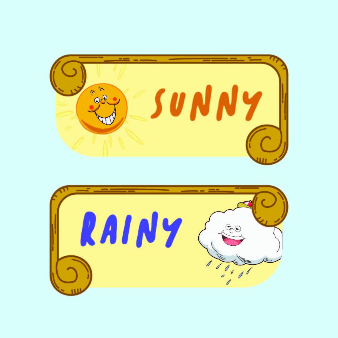 Kids Weather Chart Printable