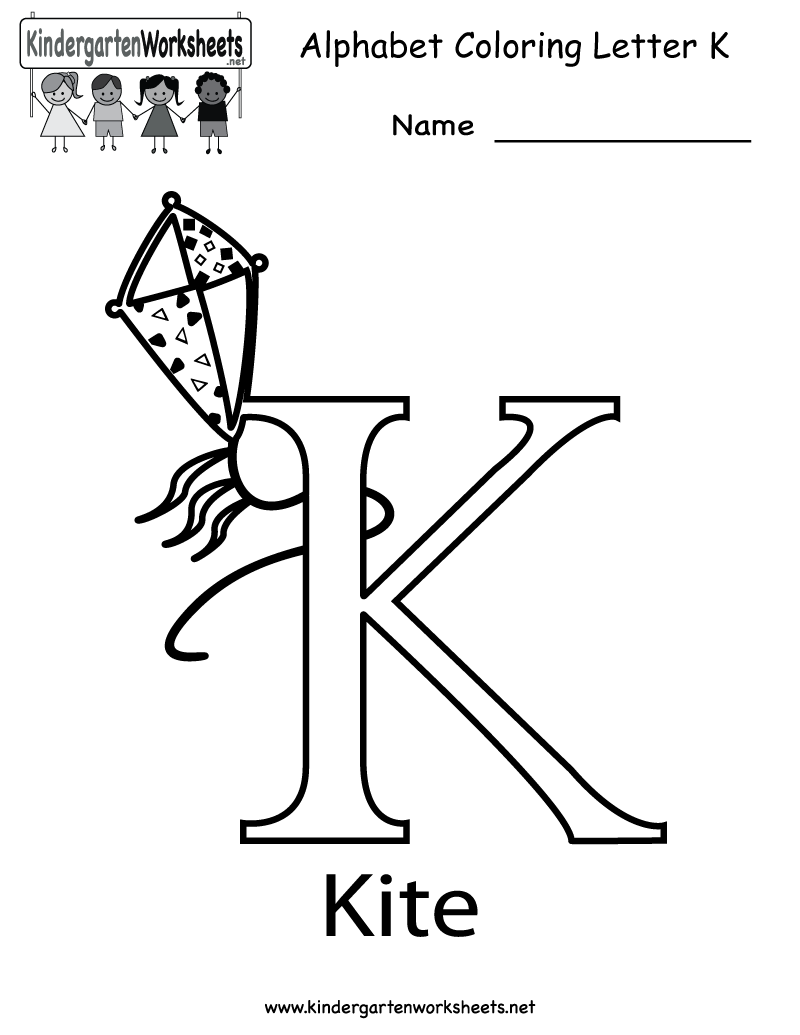 6 Images of Free Printable Letter K Worksheets