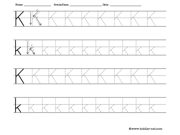 Number Names Worksheets : free printable letter tracing worksheets ...