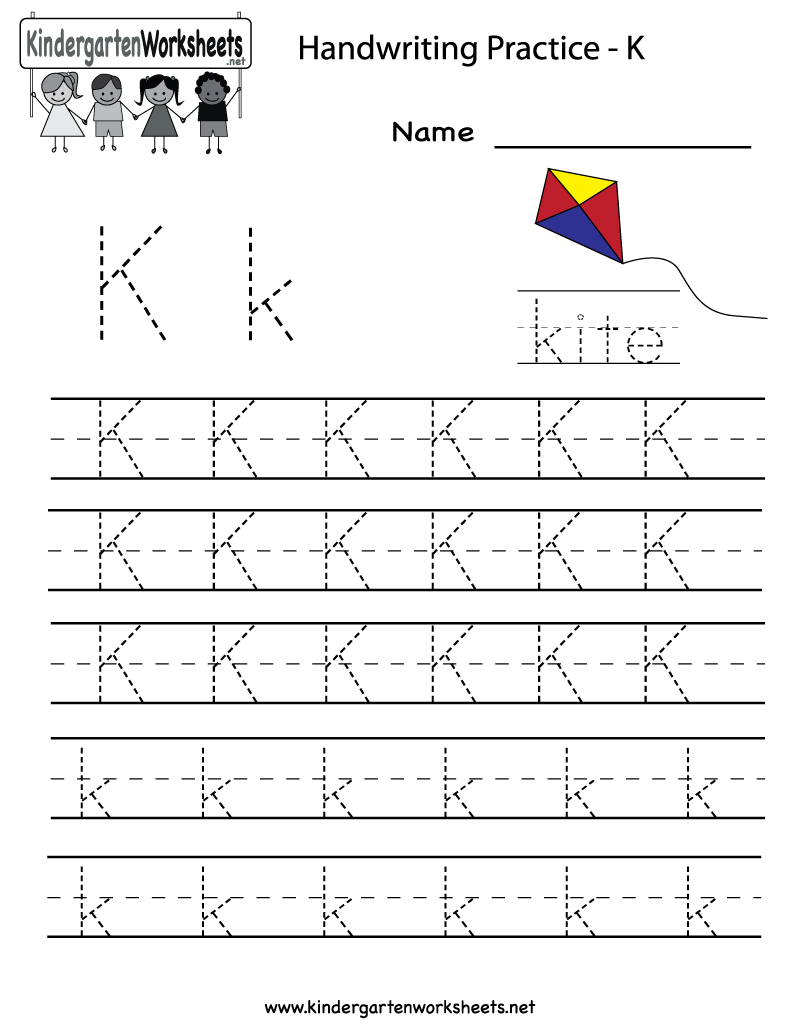 6 Best Images of Free Printable Letter K Worksheets - Letter K ...