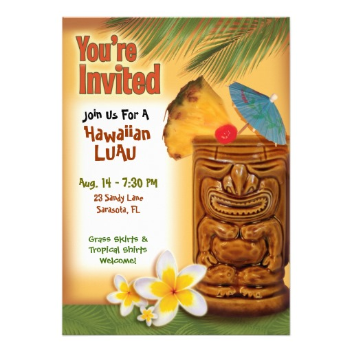 Hawaiian Themed Invitations was amazing invitations layout