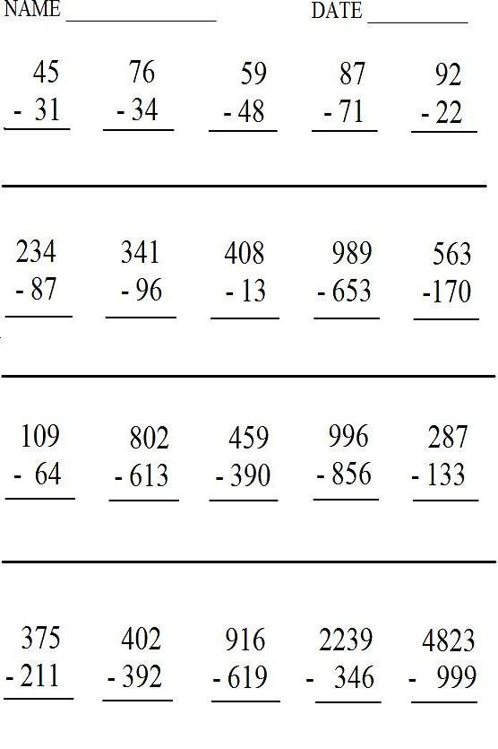 Worksheet #612792: Create Math Worksheets Printable – Math ...