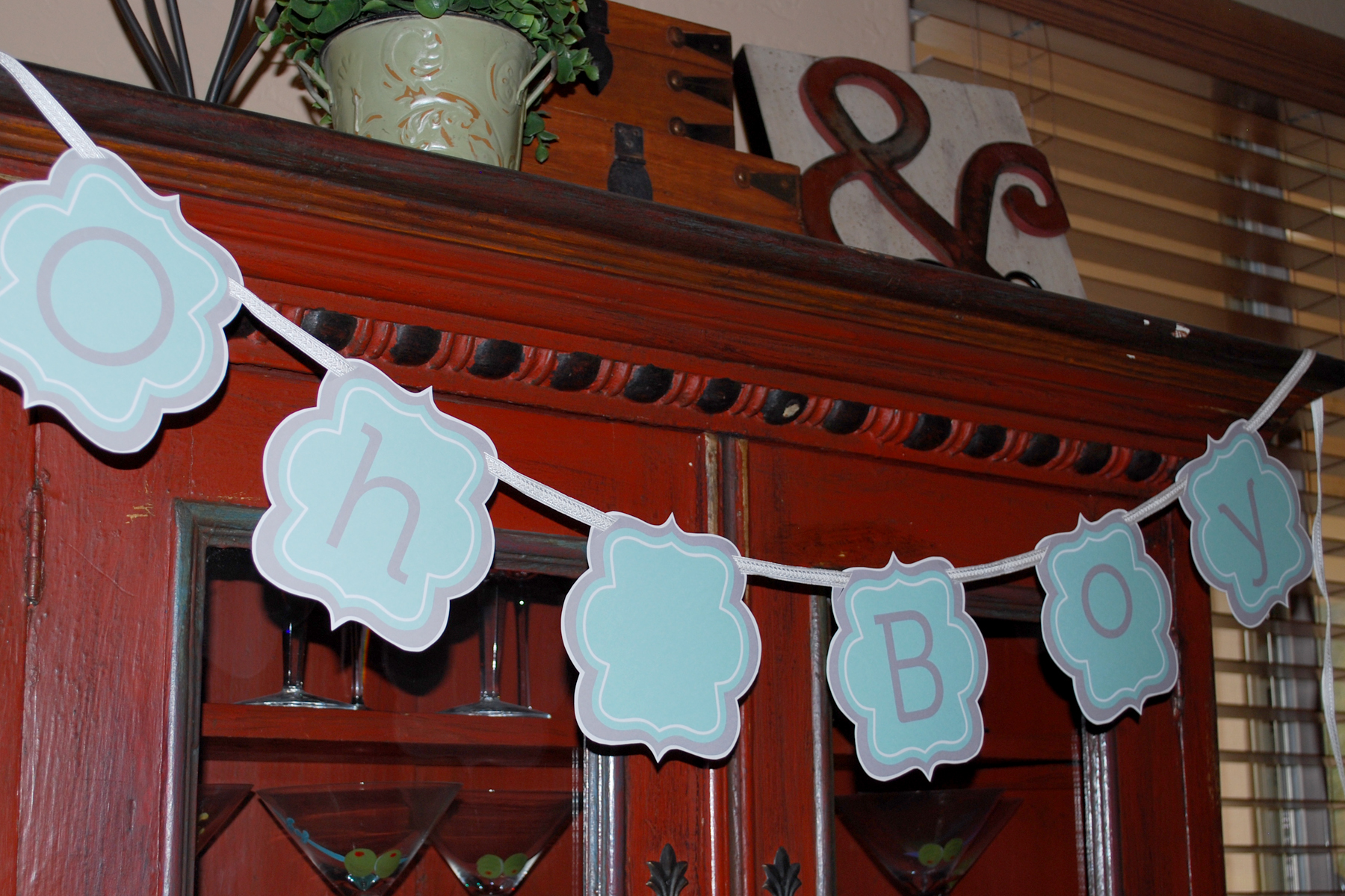 5 Images of Free Printable Baby Boy Banners