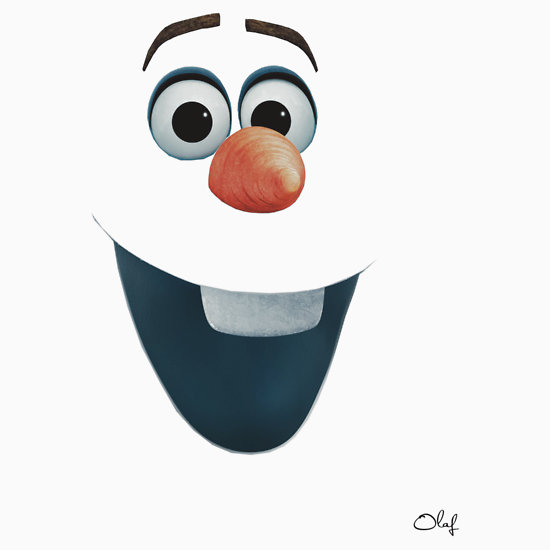 7 Images of Free Printable Olaf Face