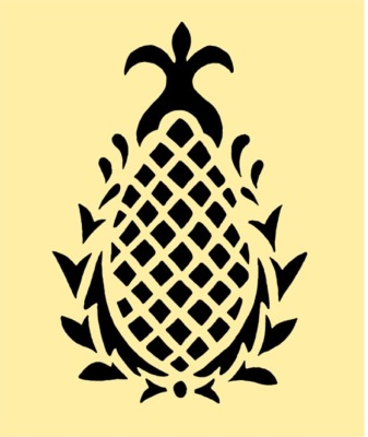 6 Best Images of Pineapple Easy Stencil Printable ... Pineapple Stencil