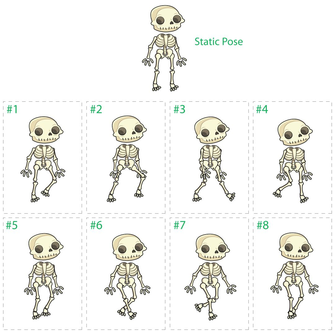 skeleton template to cut out - 6 best images of large printable skeleton template
