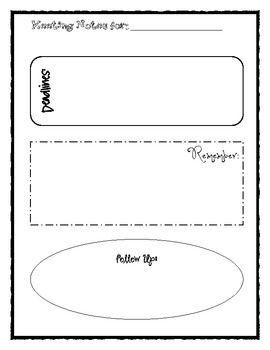 Printable Meeting Notes