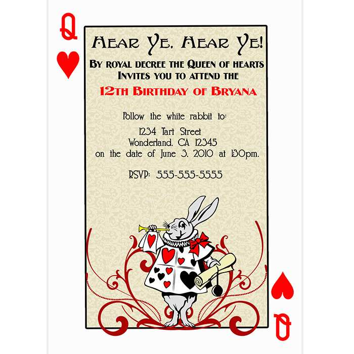 8 Best Images Of Queen Of Hearts Printable Template Free