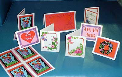 6 Images of Free Printable Red Hat Cards