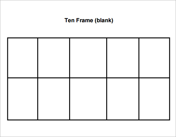 10 Frame Worksheets For First Grade - Templates and Worksheets