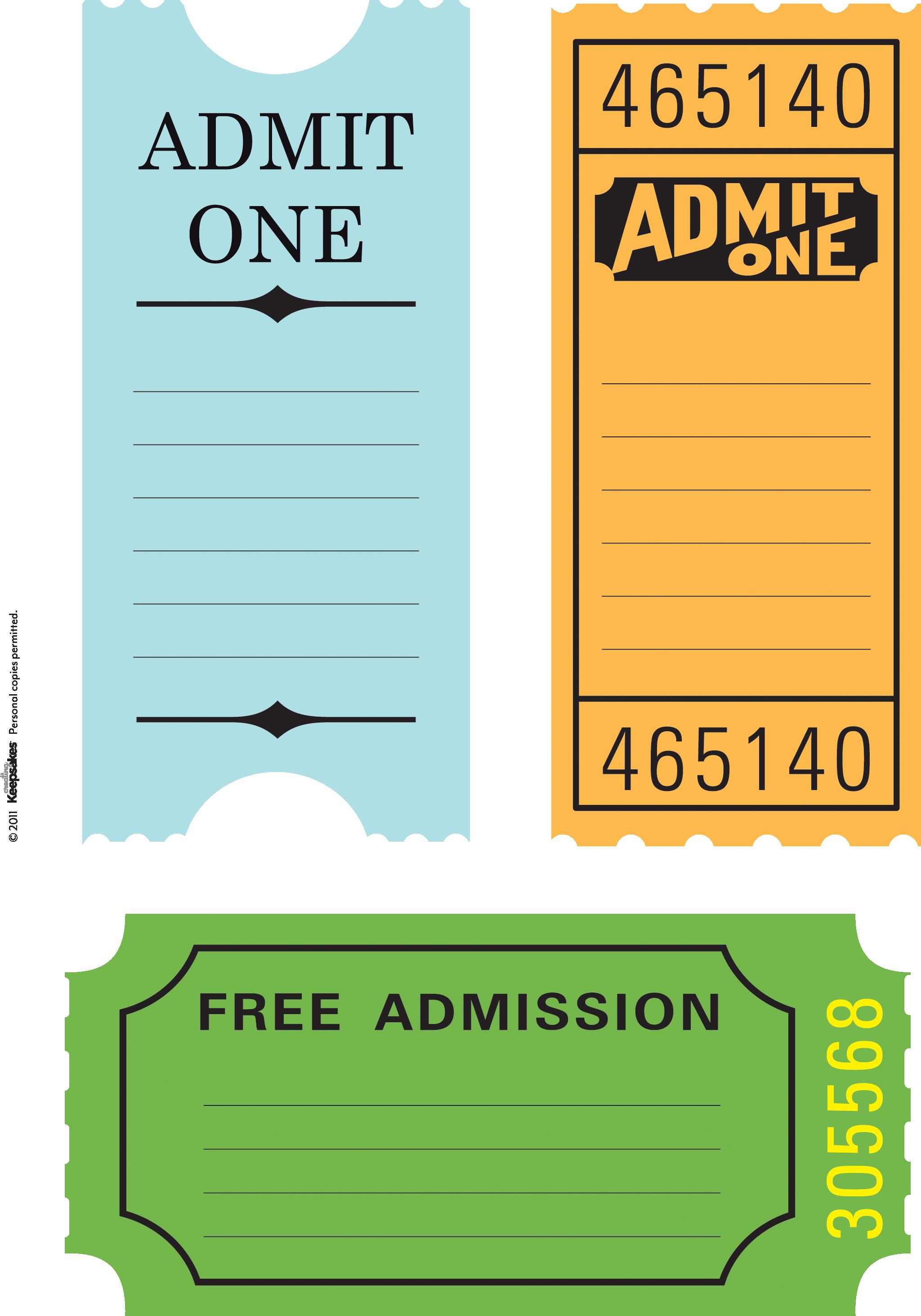 7 Best Images Of Printable Ticket Paper Free Printable