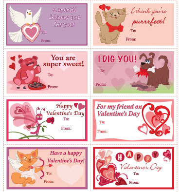 6 Images of Printable Adult Valentine's Day Cards