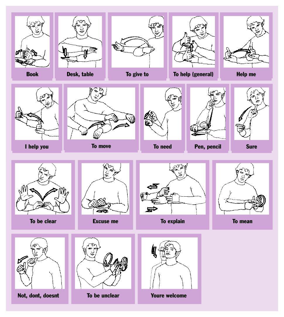 6 best images of printable asl flash cards printable