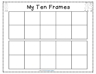 4 Best Images Of Math Ten Frames Printable Printable Ten