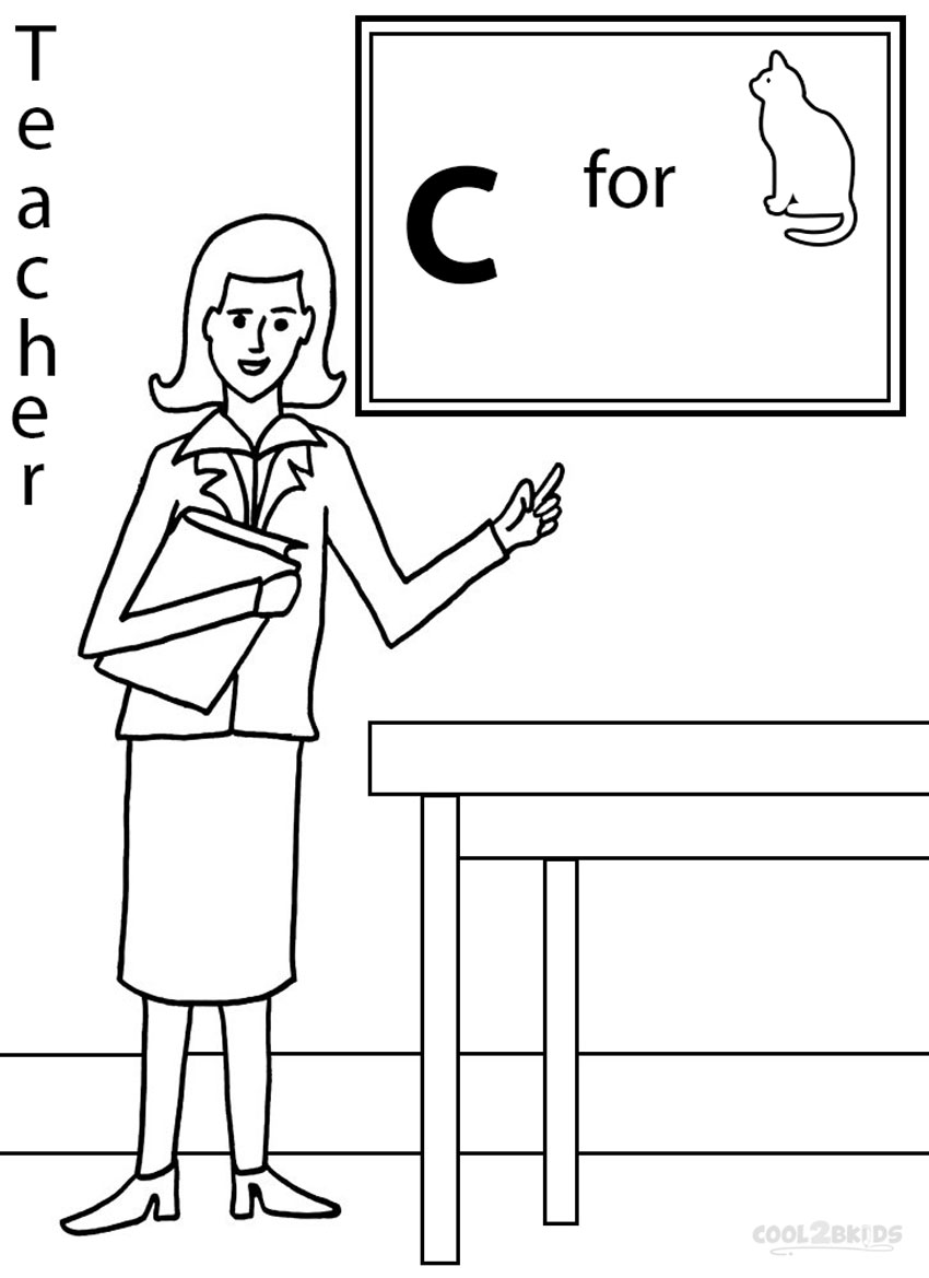 Clip Art Coloring Pages For Teachers teachers coloring pages futpal com best teacher eassume