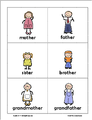 Family Members Worksheets For Kids likewise  on post printable pictures of family members 219231