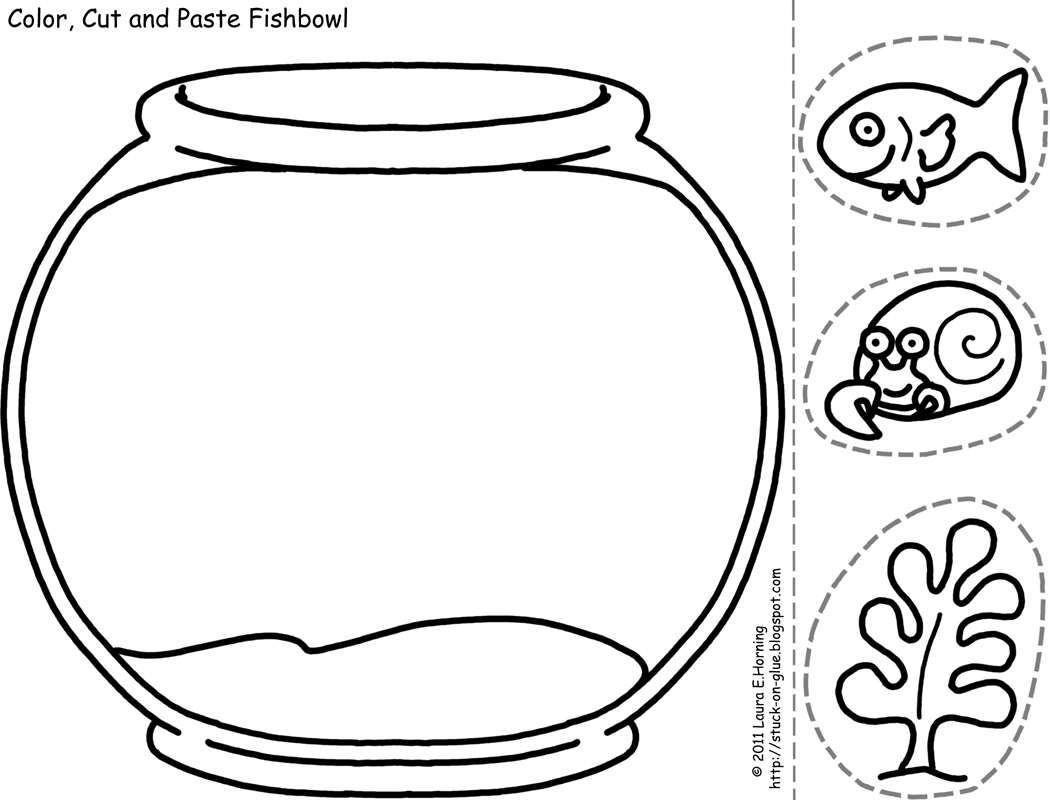 5 Images of Color Cut And Paste Printables