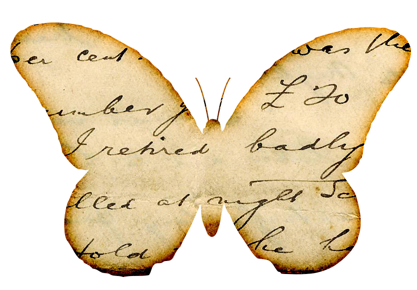 4 Images of Free Printable Vintage Graphics Butterfly