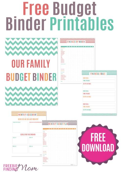 7 Images of 2015 Budget Binder Printables Free