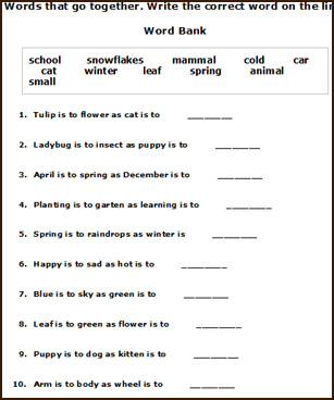 Printables. Printable Grammar Worksheets. Gozoneguide Thousands of ...