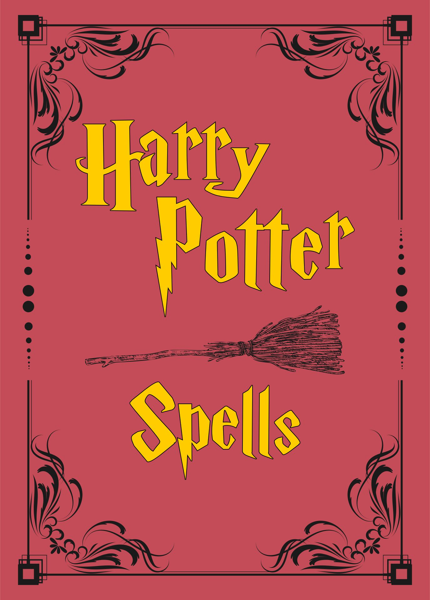 Printable Harry Potter Spell Book