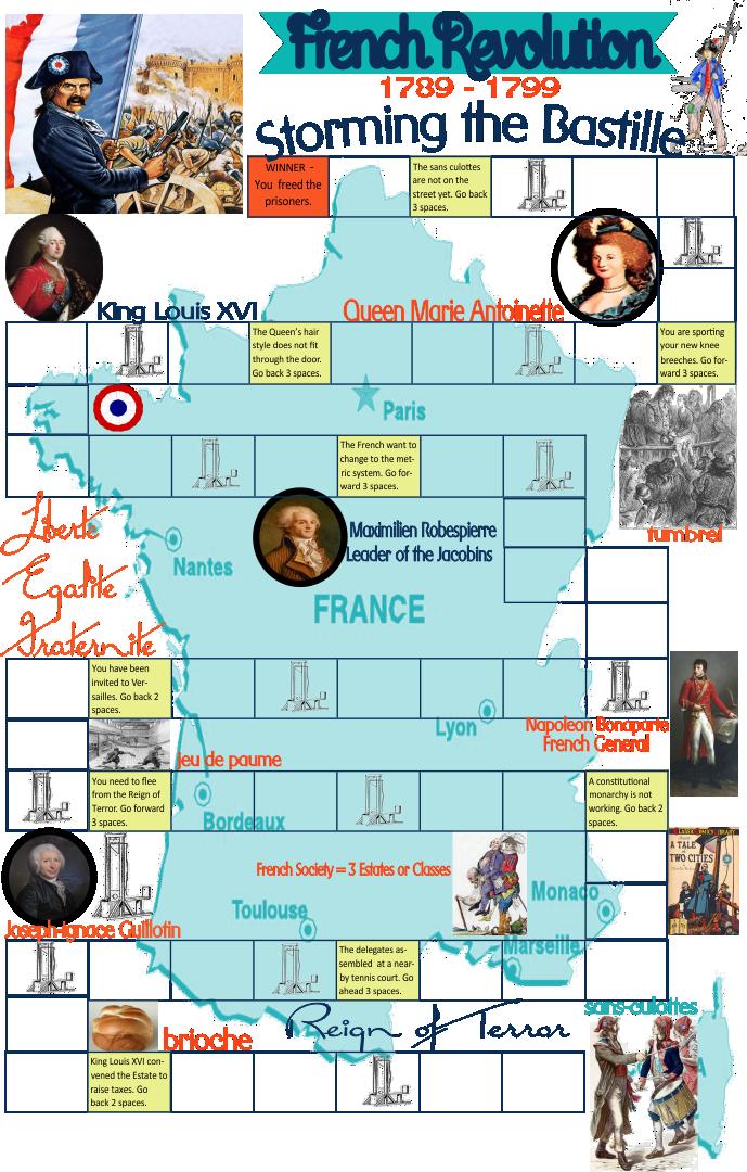 Printable History Board Games