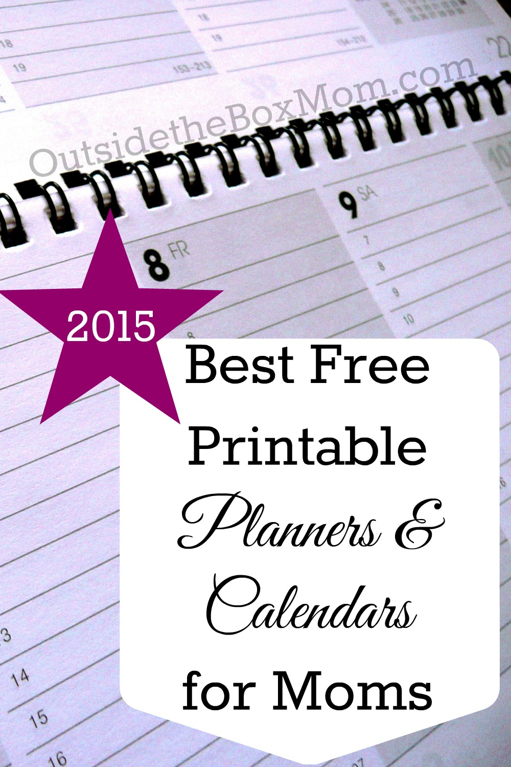 8 Images of Printable Planners For Moms