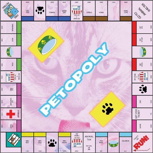 Printable Monopoly Board Game