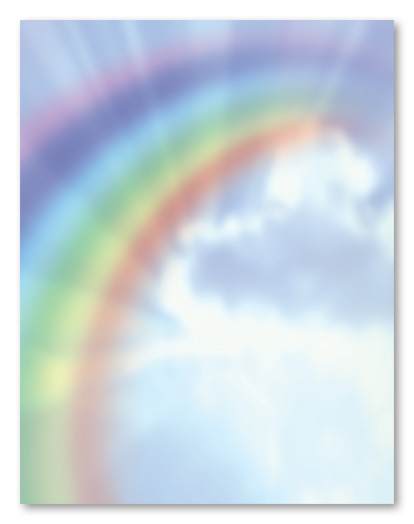 8 Images of Printable Rainbow Stationery Paper
