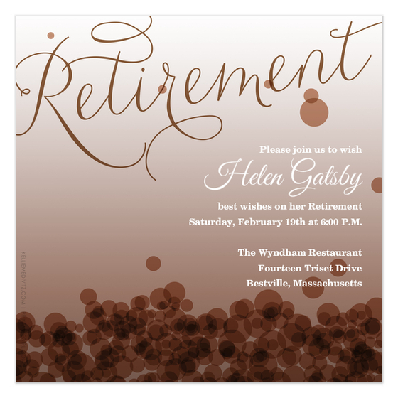 7 best images of free printable retirement templates With retirement announcement flyer template