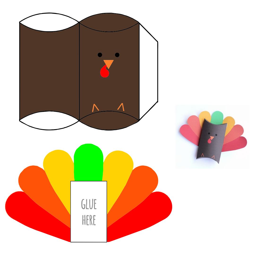 Thanksgiving Turkey Crafts Kids