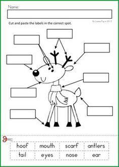 Fabulous Kindergarten Christmas Math Worksheets Themes Valentine Love ...