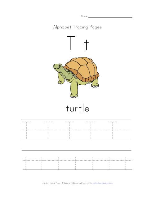 Number Names Worksheets letter t kindergarten Free Printable – Letter T Worksheets for Kindergarten
