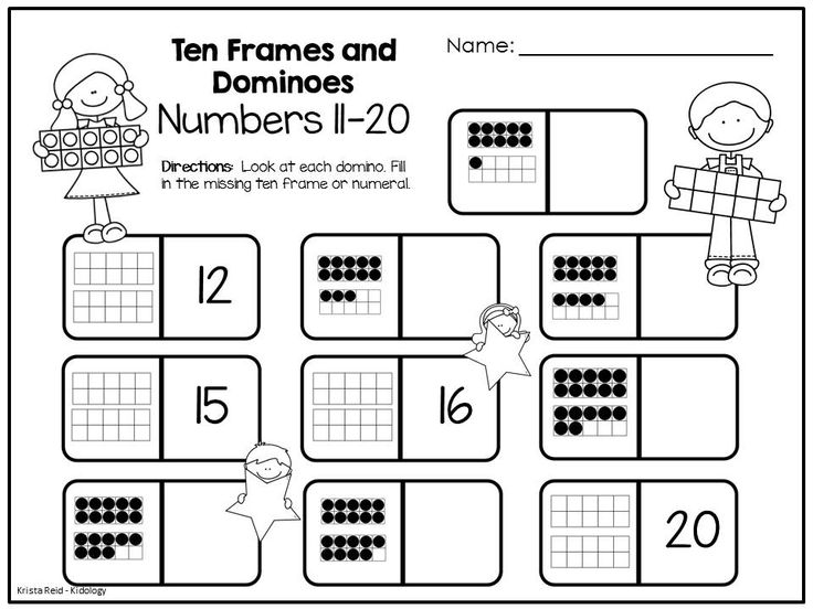 Addition Worksheets » Ten Frame Addition Worksheets For ...