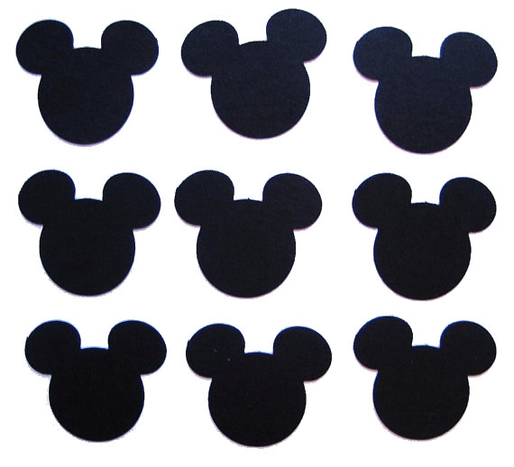 5 Images of Mickey Mouse Cutouts Printable