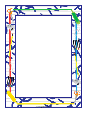 5 Images of Free Printable Classroom Borders