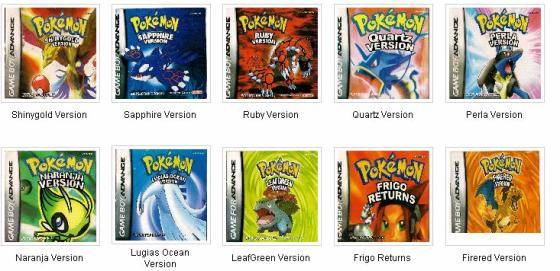 7 Images of Pokemon Gameboy Games Printable