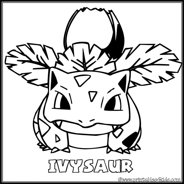 4 Best Images of Pokemon Coloring Pages Free Printable ...