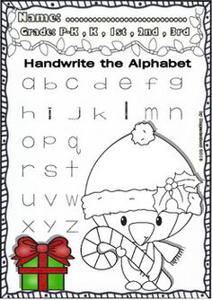 Christmas math worksheets for pre k