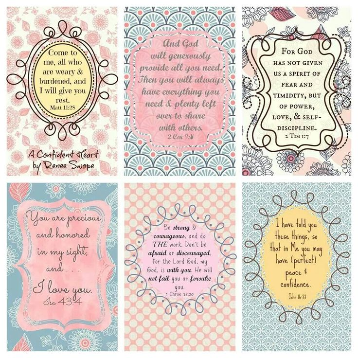 7 Images of Bible Verses Words Printable