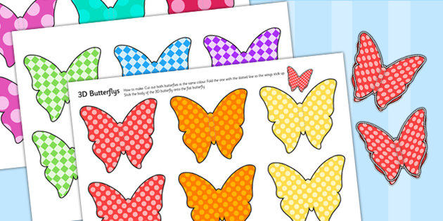 Printable Butterfly Wall Decals