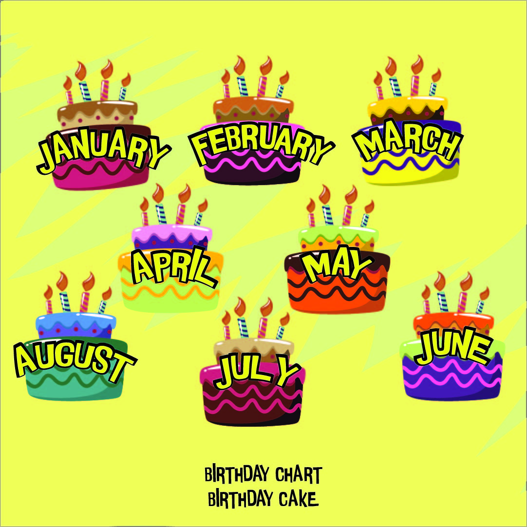 Classroom Calendar Printable : Birthday printable images gallery category page