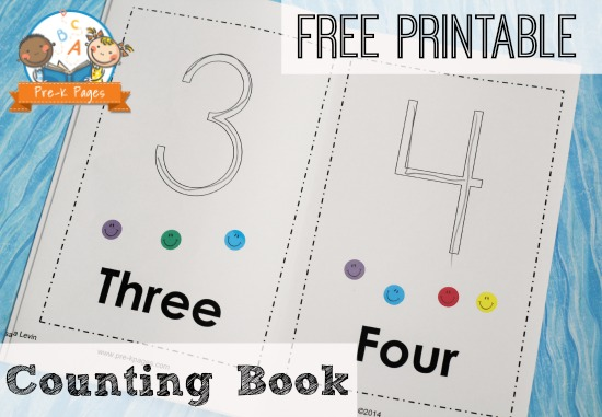 7 Images of Free Printable Number Book