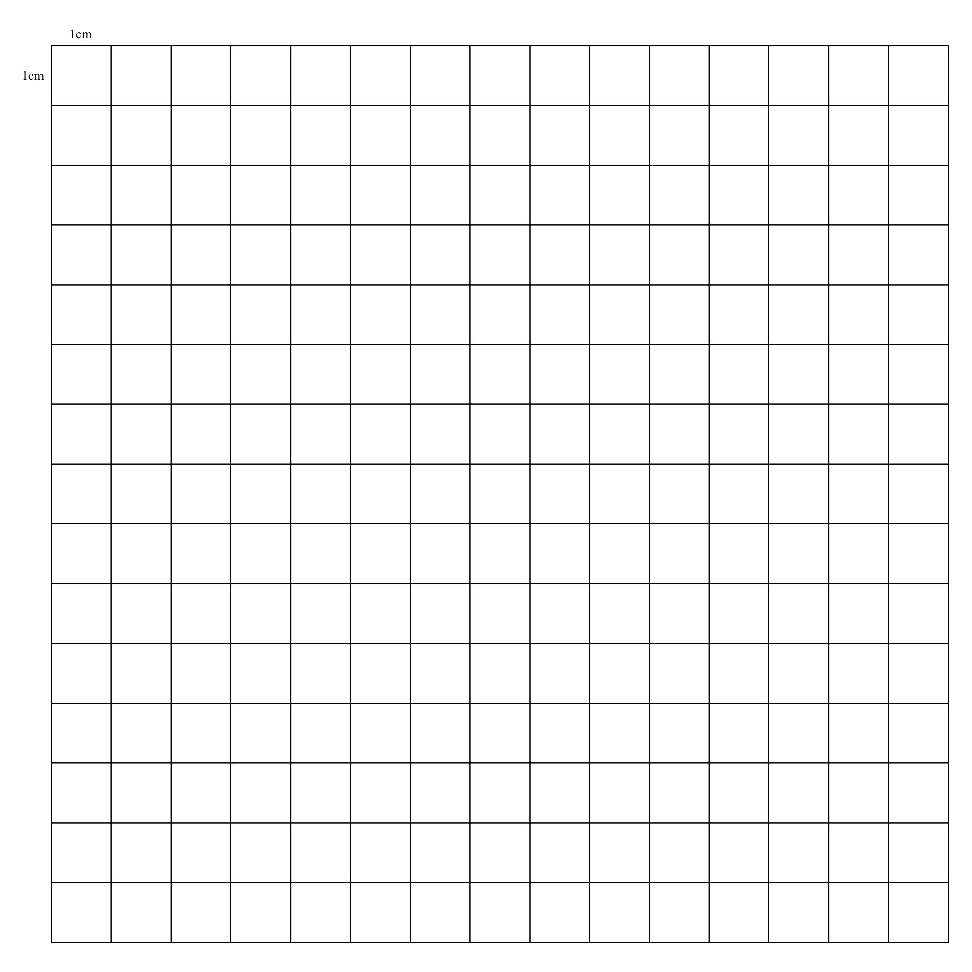 Printable Graph Paper 1 Cm Grid