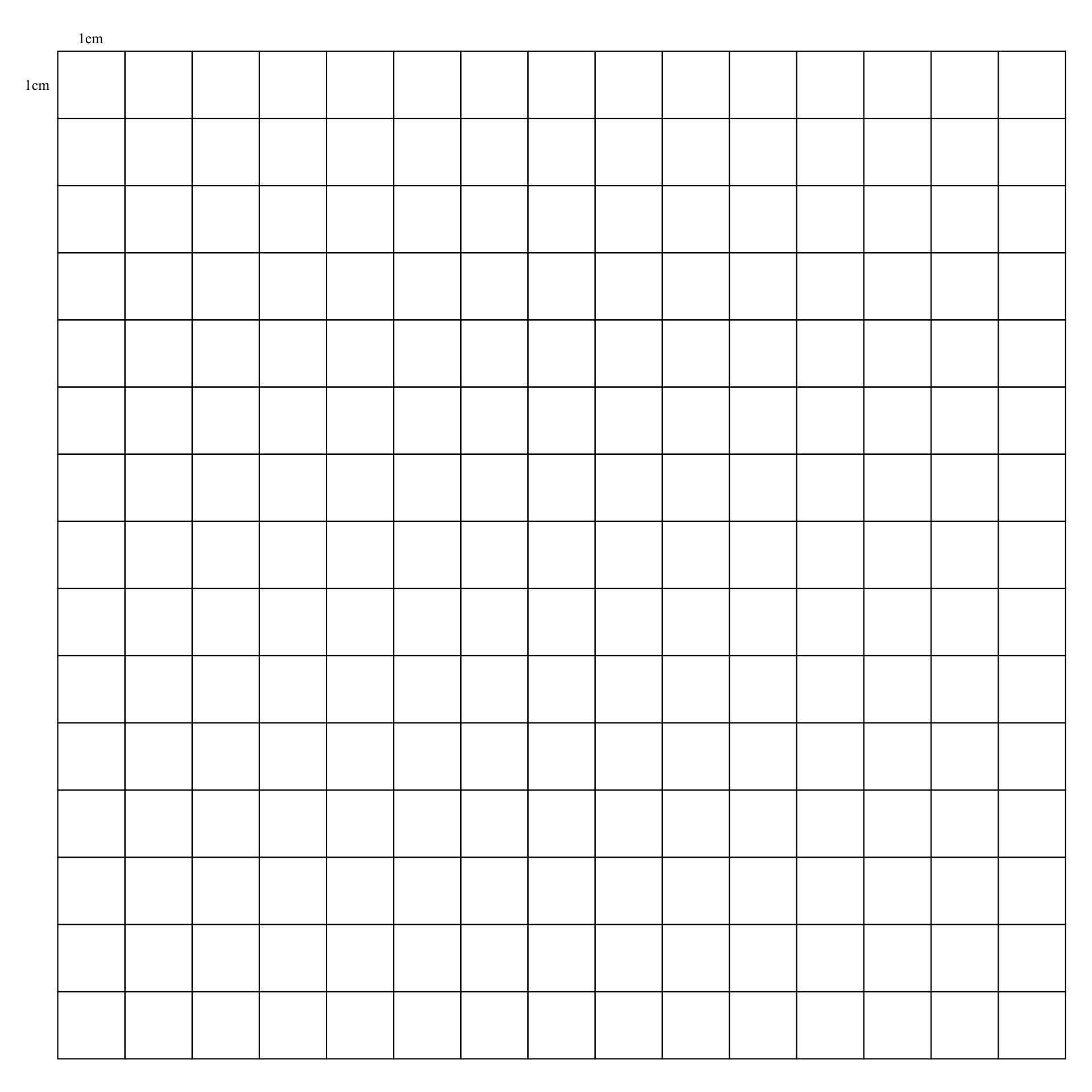 Printable Graph Paper 1 Cm Grid